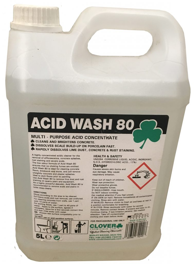 Acid Wash Extra Strong Acidic Cleaner - Ispeclean